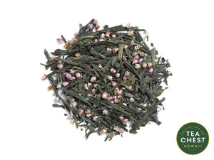 Sakura Sencha Loose Green Tea from teachest.com