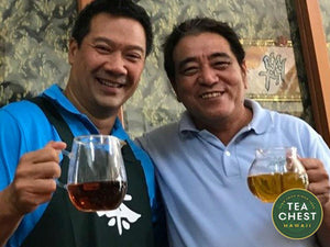 Byron Goo visits Lin Wang Tea farm - teachest.com