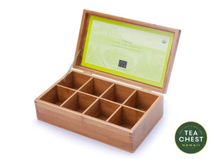 Bamboo Tea Chest - Tea Chest Hawaii