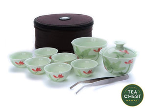 Full Mini Gaiwan Travel Set from Hawaii's TeaChest.com