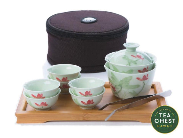 Mini Gaiwan Travel Set from Hawaii's TeaChest.com