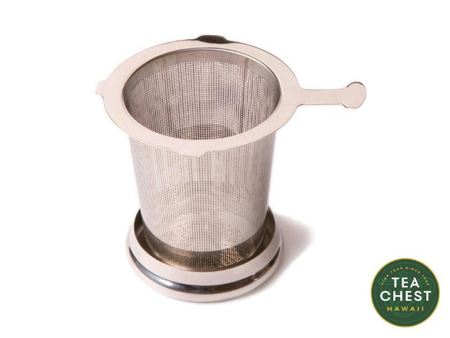 One Cup Stainless Steel Infuser - Tea Chest Hawaii