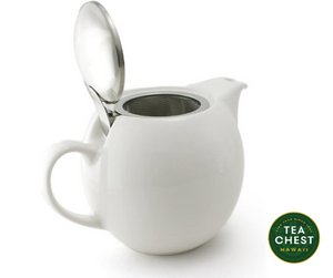 Infuser Tea Pot, 15 oz. - Tea Chest Hawaii