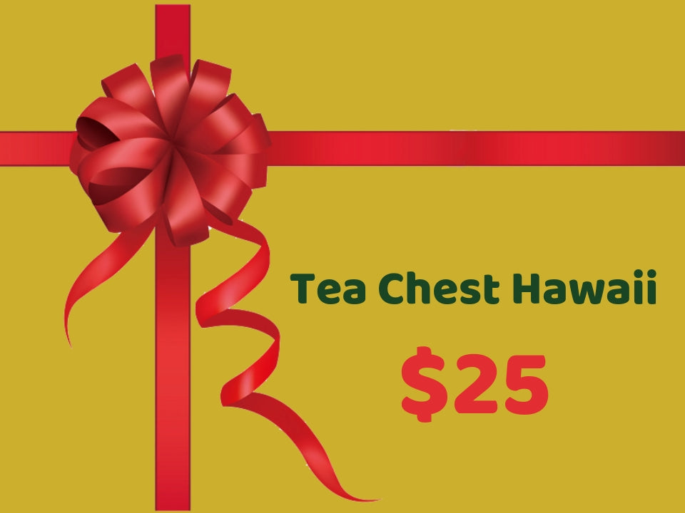 Tea Chest Gift Cards