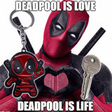 Deadpool: Full Figurine with Two Katana Swords Premium Keychain
