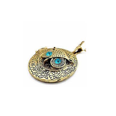 Harry Potter: Bronze Vintage Hedwig Pendant with a Secret Compartment