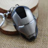 Iron Man: Silver and Black Mask Keychain