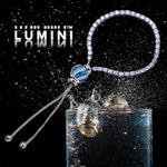 Lumini Blue Royale Charm Diamond Strand Bracelet