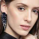 Lumini Niagara Falls Snow and Ice Dangler Earrings
