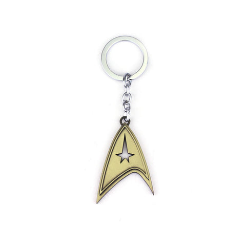 Star Trek: The Enterprise Bronze Insignia Keychain
