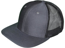 Load image into Gallery viewer, Leather Patch 6 Panel Mesh-Back Hats