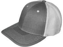 Load image into Gallery viewer, Leather Patch Structured Mesh-Back Hats