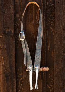 Single Ear Leather Headstall