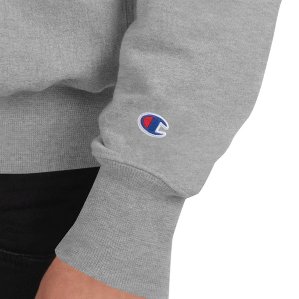 Unisex Loved Champion Sweatshirt Oxford Grey