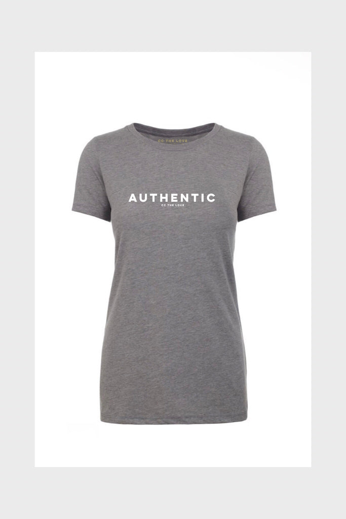 women's authentic shirt heather