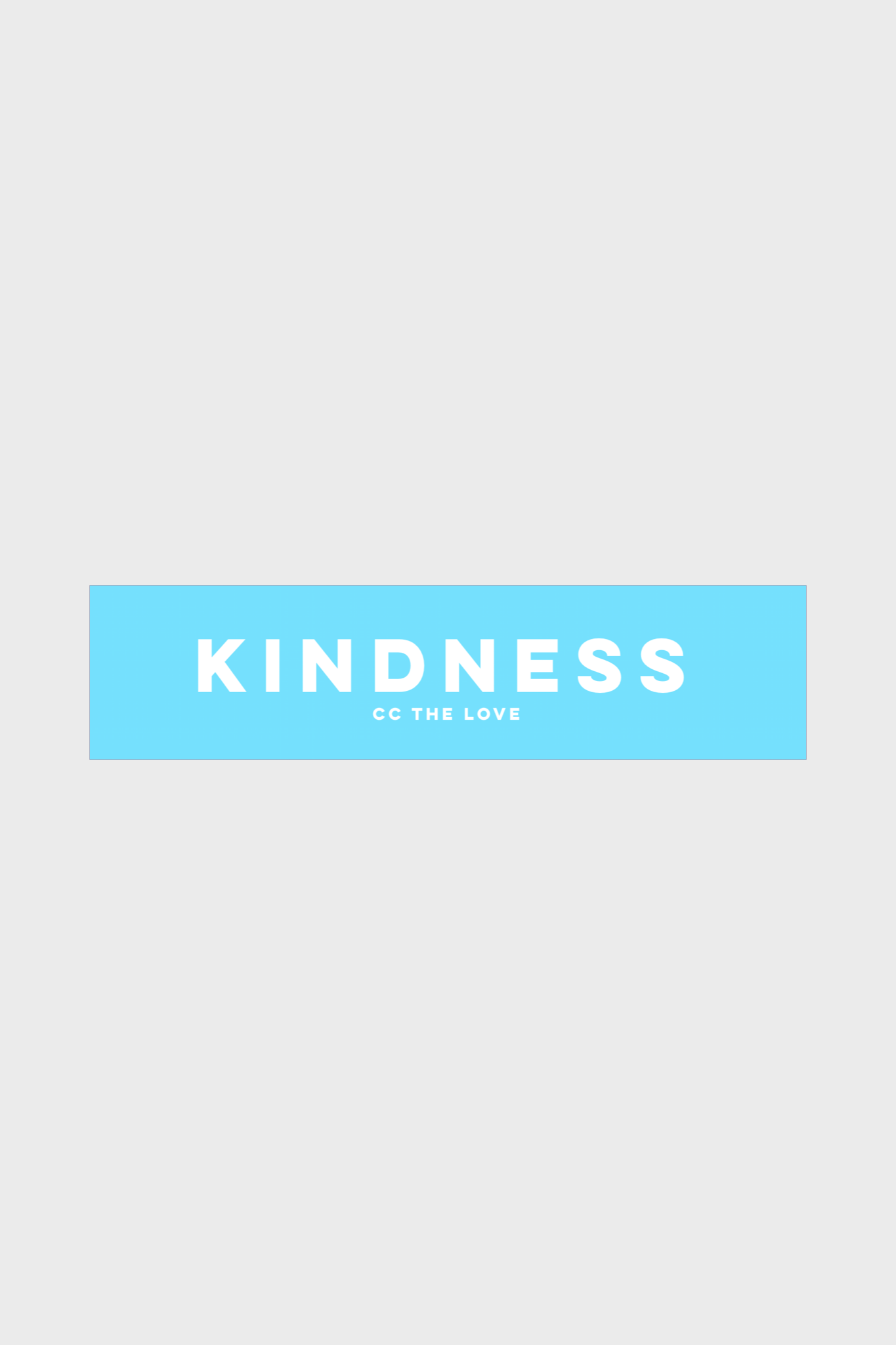ccthelove kindness graphic