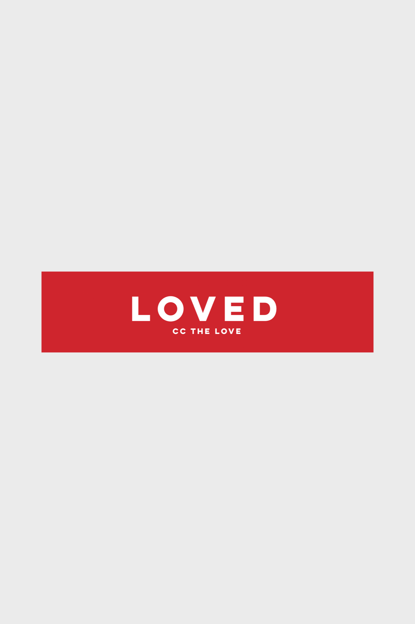 ccthelove loved graphic