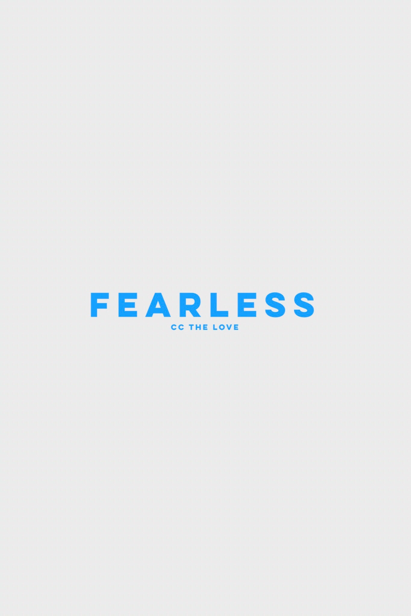 fearless by ccthelove