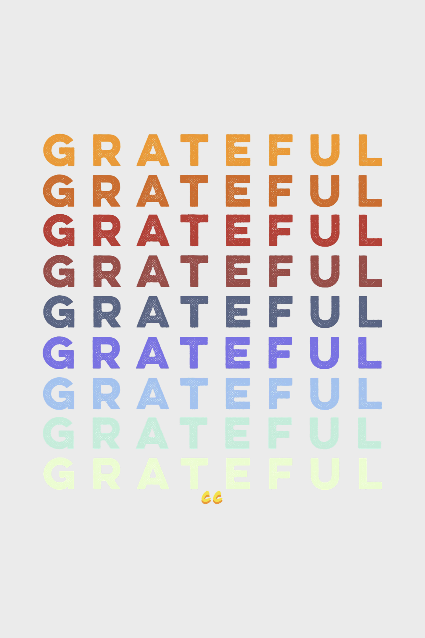grateful by cc the love