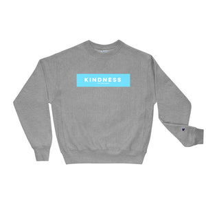 Unisex Kindness Champion Sweatshirt Oxford Grey