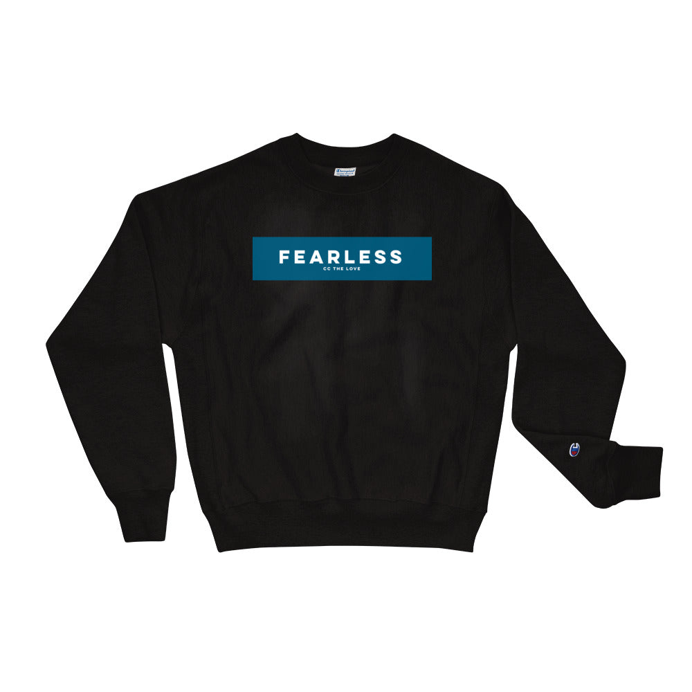 Unisex Fearless Champion Sweatshirt Black