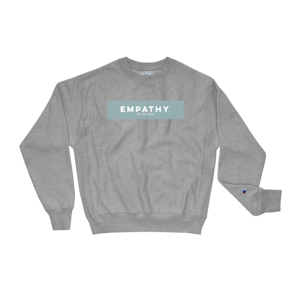 Unisex Empathy Champion Sweatshirt Oxford Grey