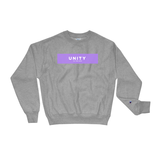 Unisex Unity Champion Sweatshirt Oxford Grey
