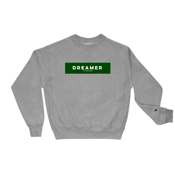 Unisex Dreamer Champion Sweatshirt Oxford Grey