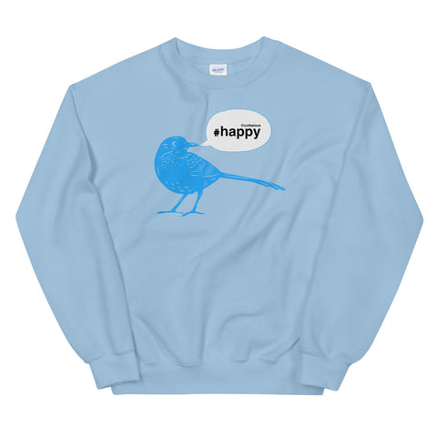 Women's Happy Tweet Sweatshirt