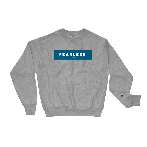 Unisex Fearless Champion Sweatshirt Oxford Grey