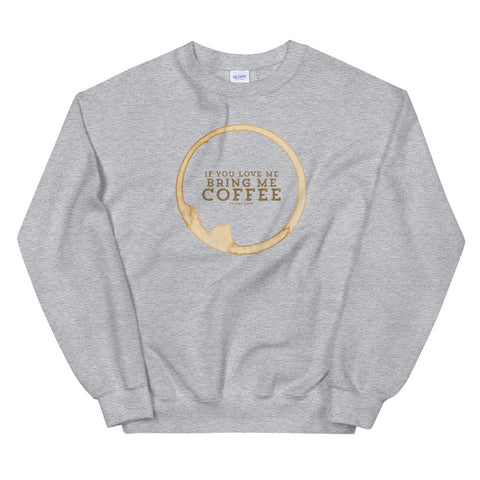 Women's Coffee Lover Sweatshirt