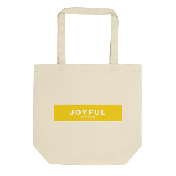 Joyful Eco Tote Bag