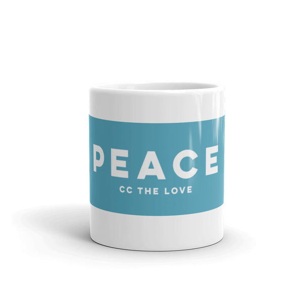 Peace Coffee Mug 11oz