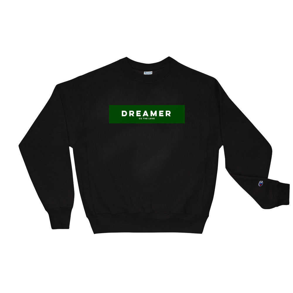 Unisex Dreamer Champion Sweatshirt Black