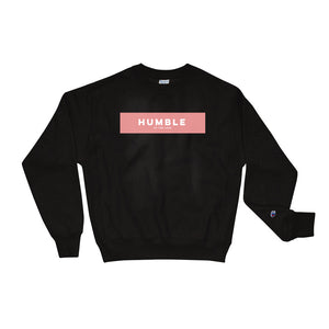 Unisex Humble Champion Sweatshirt Black