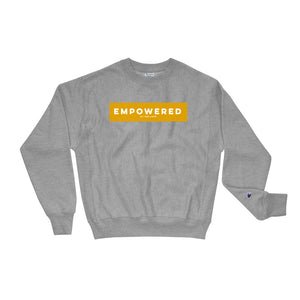 Unisex Empowered Champion Sweatshirt Oxford Grey