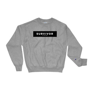 Unisex Survivor Champion Sweatshirt Oxford Grey