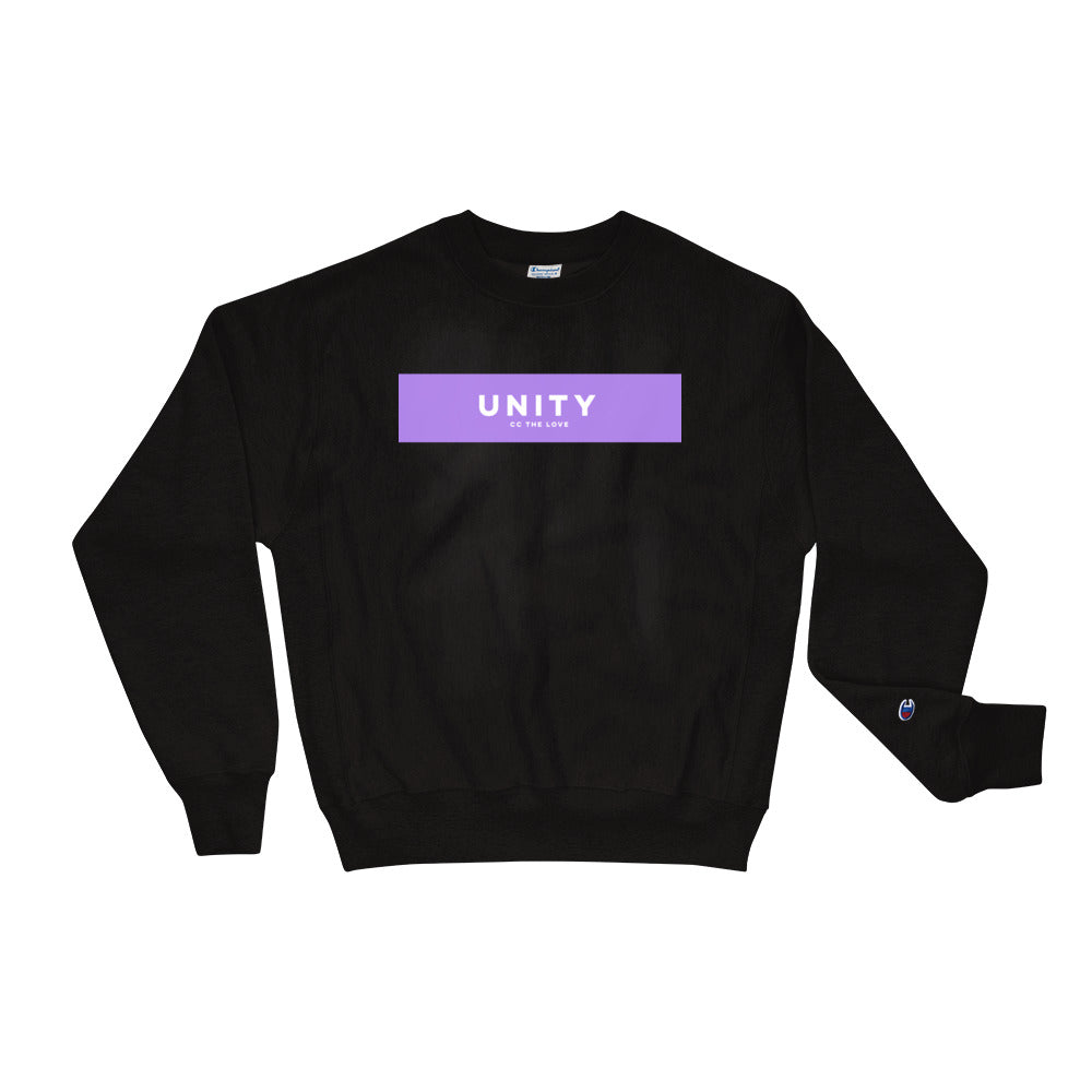 Unisex Unity Champion Sweatshirt Black