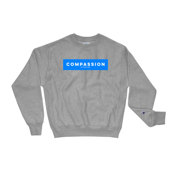 Unisex Compassion Champion Sweatshirt Oxford Grey