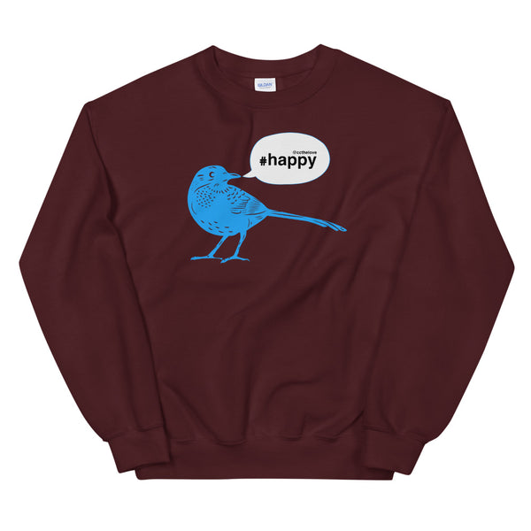 Men's Happy Tweet Sweatshirt