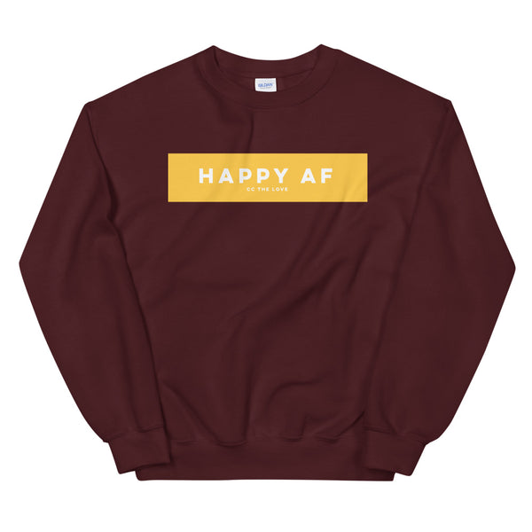 Men's Happy AF Sweatshirt