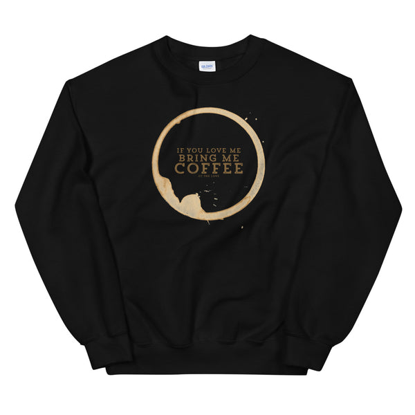 Men's Coffee Lover Sweatshirt