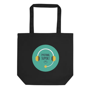 Emotional Support Eco Tote Bag