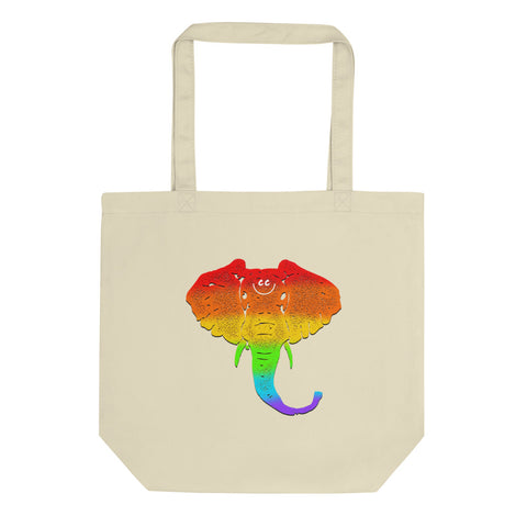 Elephant In The Room Eco Tote Bag