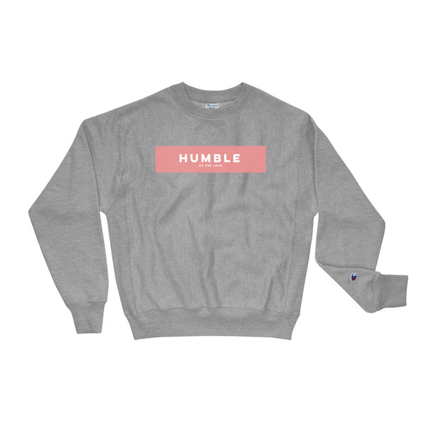 Unisex Humble Champion Sweatshirt Oxford Grey