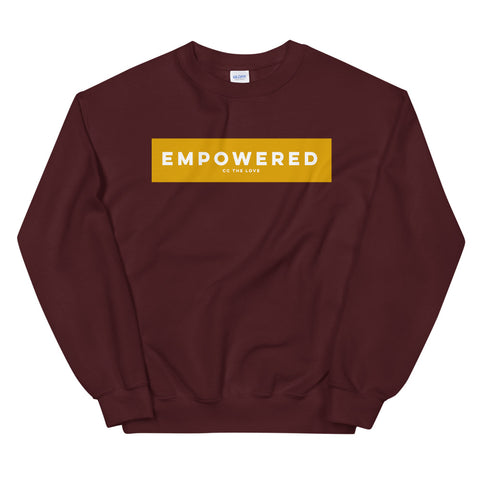 Women's Empowered Sweatshirt