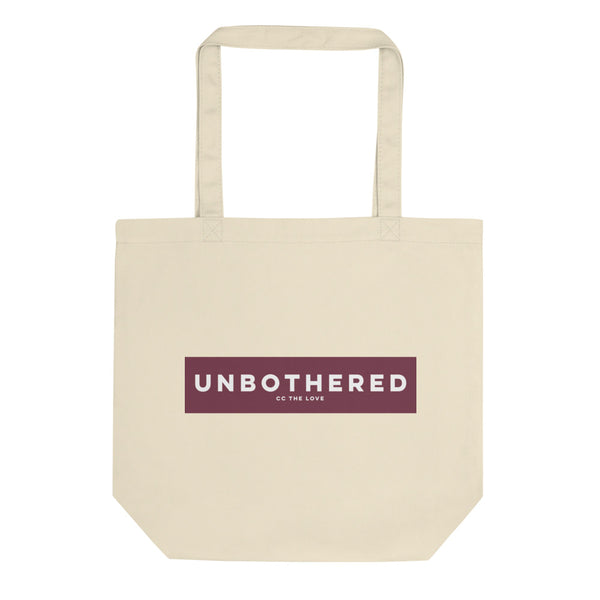 Unbothered Eco Tote Bag