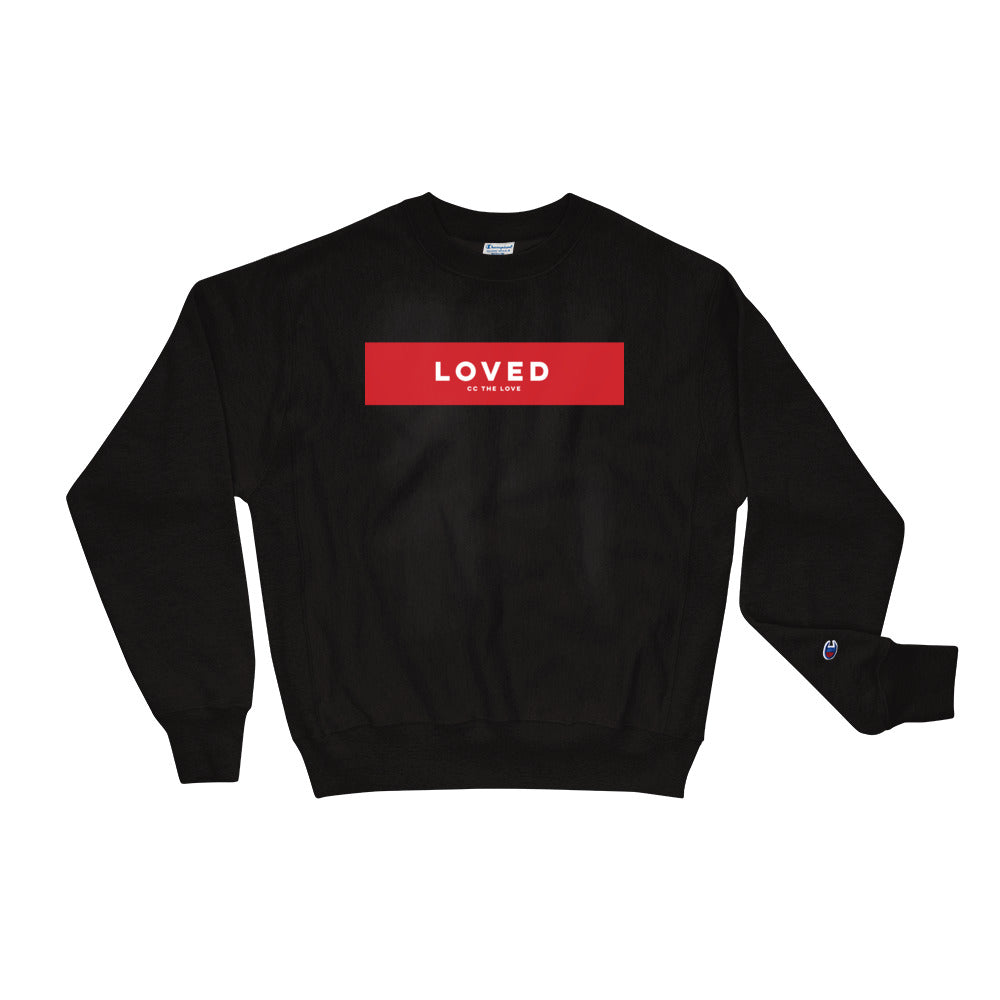 Unisex Loved Champion Sweatshirt Black