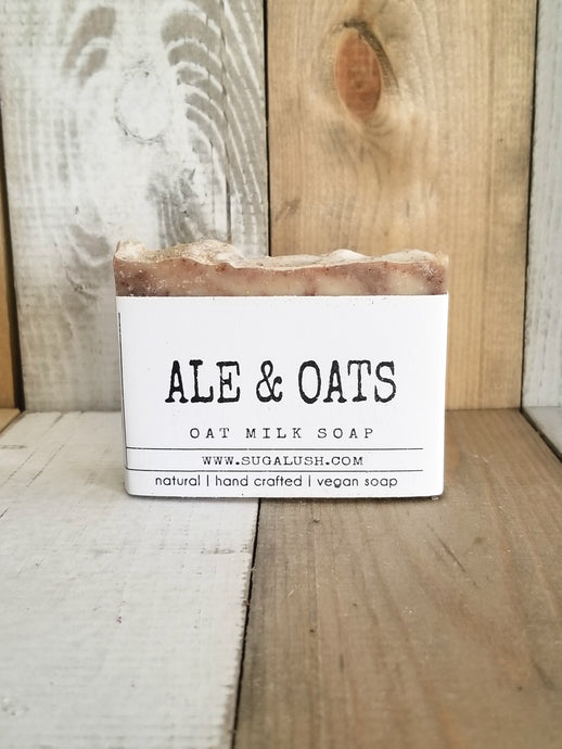 Ale + Oats Organic Oat Milk Soap