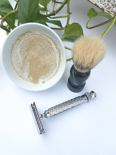 Ale + Oats Shaving Soap Set